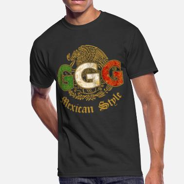 Mexican ggg mexican style - Men's 50/50 T-Shirt