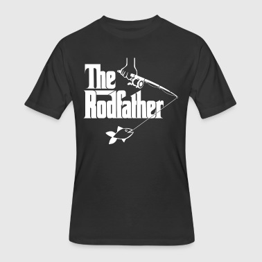 Hard Bass Gas Mask The Rodfather - Men's 50/50 T-Shirt