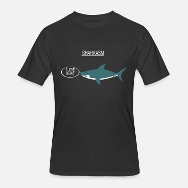 Sharkasm Sharkasm - Men's 50/50 T-Shirt
