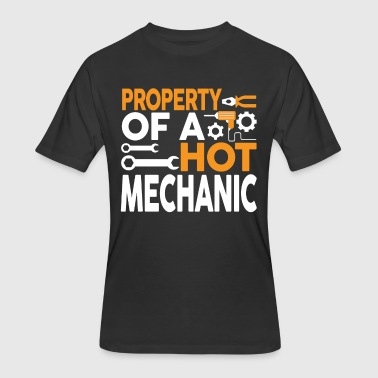 Property Of My Hot Wife Property Of A Hot Mechanic T Shirt - Men's 50/50 T-Shirt