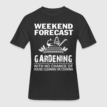 Submissive Affliction WEEKEND FORECAST GARDENING - Men's 50/50 T-Shirt