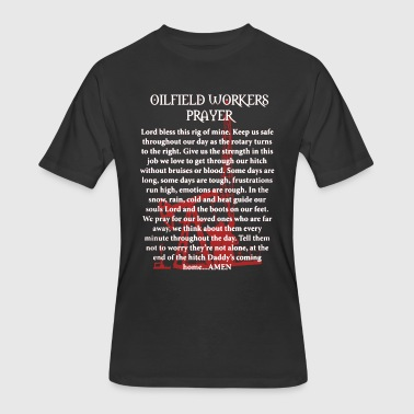Oilfield Worker Shirt - Men's 50/50 T-Shirt