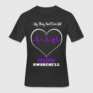 Epilepsy Awareness Shirt - Men's 50/50 T-Shirt