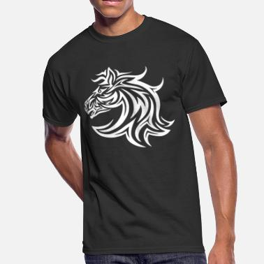 Horse Face Horse Face - Men's 50/50 T-Shirt