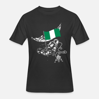 Flag Of Nigeria nigeria flag - Men's 50/50 T-Shirt