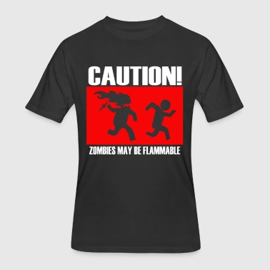Cautions Caution - Men's 50/50 T-Shirt