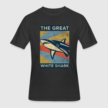 Sharks Great White Shark - Men's 50/50 T-Shirt