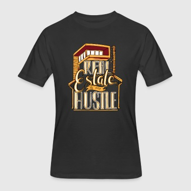 Real Estate Is My Hustle Agent Gift - Men's 50/50 T-Shirt