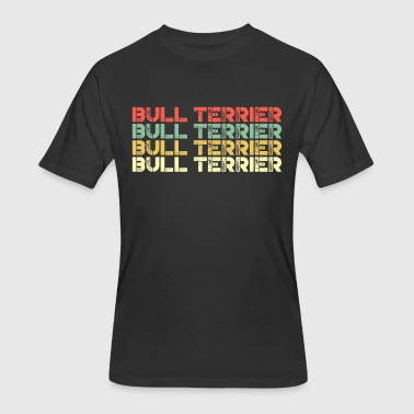 Bulldog Bull Terrier Bull Terrier - Men's 50/50 T-Shirt