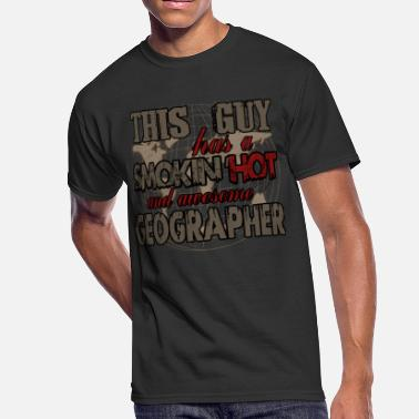 Geographic Awesome Geographer T Shirt - Men's 50/50 T-Shirt