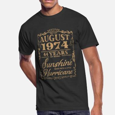 44 Birthday august 1974 44 years of bieng sunshine birthday - Men's 50/50 T-Shirt