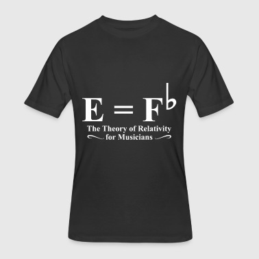 the theory of relativity for musicians music - Men's 50/50 T-Shirt