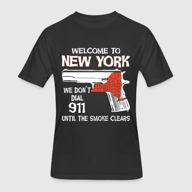 welcome new york patriotic t shirts - Men's 50/50 T-Shirt