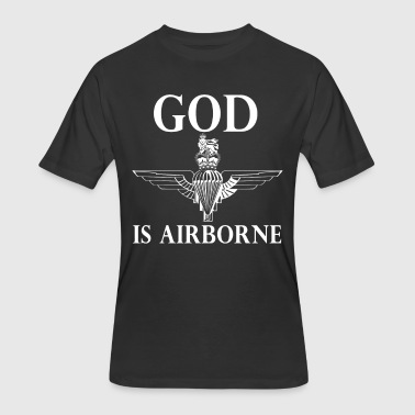 Royal Marines Royal Marines God Is Airborne - Men's 50/50 T-Shirt