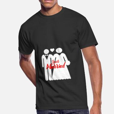 Just Married Just Married - Men's 50/50 T-Shirt