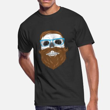 Hipster Family Skull Hipster - Men's 50/50 T-Shirt