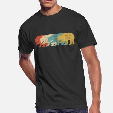 Vintage Bears Vintage bear - Men's 50/50 T-Shirt