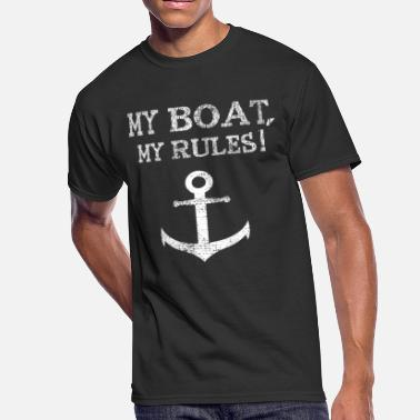 Crew Boat Anchor boat sailing crew - Men's 50/50 T-Shirt