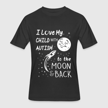 Autism Child Autism mom - I love my child with autism - Men's 50/50 T-Shirt