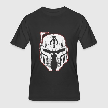 War Movie Mandalorian face - Star Wars movie - Men's 50/50 T-Shirt