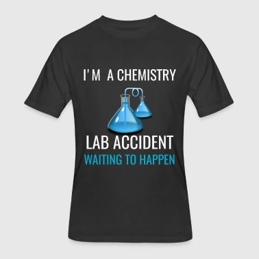 Lab Accident I'M A Chemistry Lab Accident, Funny Chemistry Teacher Gift - Men's 50/50 T-Shirt