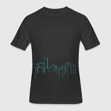 Cityscape - Men's 50/50 T-Shirt