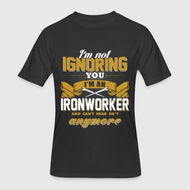 Ignorance Wife Ironworker - Ironworker - i'm not ignoring you i - Men's 50/50 T-Shirt