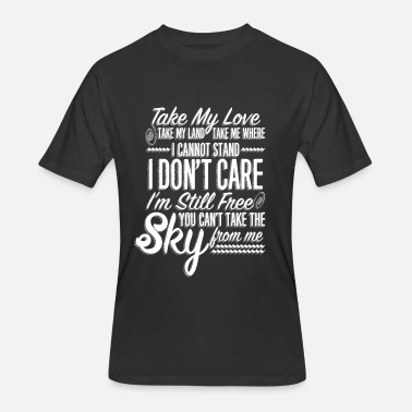 Starsky And Hutch Sky - Take my love take my land I don't care - Men's 50/50 T-Shirt