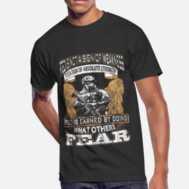Ptsd PTSD - Earned by doing what others fear - Men's 50/50 T-Shirt