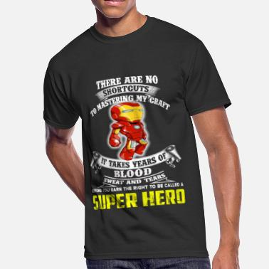 Hazmat Super hero - No shortcust to master my craft - Men's 50/50 T-Shirt