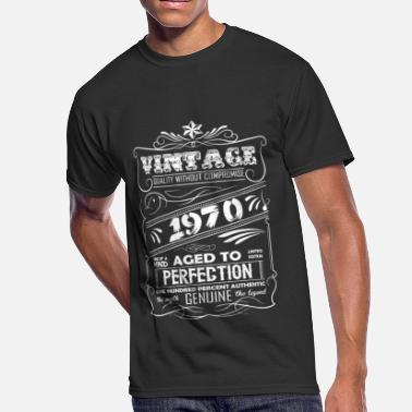 Vintage 1970 Aged To Perfection Vintage Aged To Perfection 1970 - Men's 50/50 T-Shirt