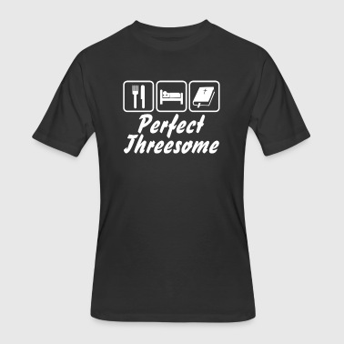 Gift Threesome PERFECT THREESOME - Men's 50/50 T-Shirt