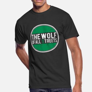 The Wolf Of Wall Street Wolf of Wall Street Finance Invest - Men's 50/50 T-Shirt