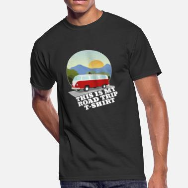 This Is My Road Trip This Is My Road Trip - Men's 50/50 T-Shirt
