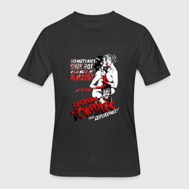 Sex Bloody Lesbian Zombie from Outer Space - Bloody - Men's 50/50 T-Shirt