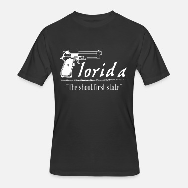 Florida State Funny Florida - The shoot first state - Men's 50/50 T-Shirt