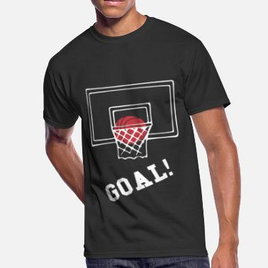 Basketball Goal Basketball Goal Shirt - Men's 50/50 T-Shirt
