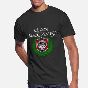 Family Reunion MacTavish Surname Scottish Clan Tartan Crest Badge - Men's 50/50 T-Shirt
