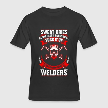 Men-only Only Real Men - Welder - Men's 50/50 T-Shirt