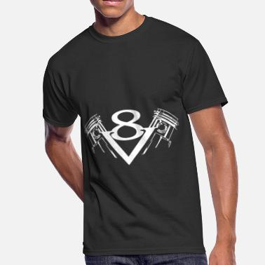 Engine V8 V8 engine for Hemi Hot Rod Muscle - Men's 50/50 T-Shirt