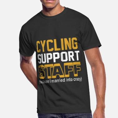 Cycle Symbol cycling support staff cycling - Men's 50/50 T-Shirt