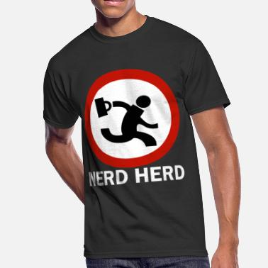 Herding Breed nerd herd geek - Men's 50/50 T-Shirt