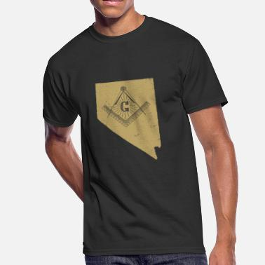 Free Masons Nevada Masonic Secrets Masonic Ritual Shirt Masonic Gifts - Men's 50/50 T-Shirt