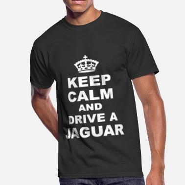Keep Calm And Get Tattooed KEEP CALM AND DRIVE JAGUAR - Men's 50/50 T-Shirt