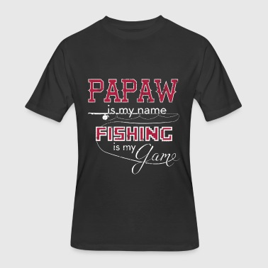 Fishing Games Bass Fishing Papaw Fishing Game - Men's 50/50 T-Shirt