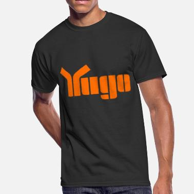 Yugo Yugo Cool Retro 1980 S Car Logo Super Soft Cotto - Men's 50/50 T-Shirt