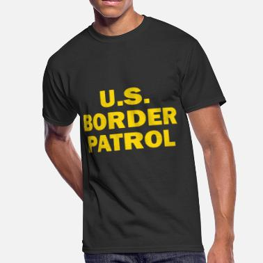 Fuck Enforcement Us Border Patrol Immigration Customs Enforcement L - Men's 50/50 T-Shirt