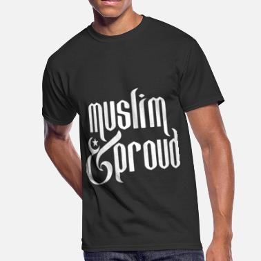 Muslim Girl muslim and pround geek t shirts - Men's 50/50 T-Shirt