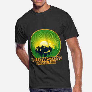 5a255011aed Yellow stone national park - Men's 50/50 ...