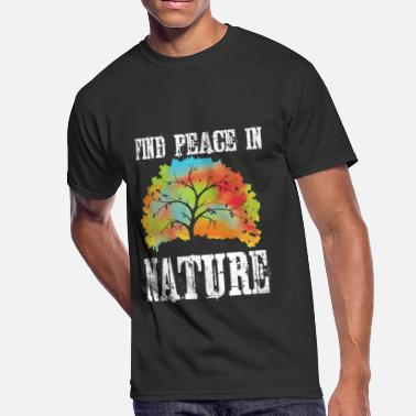 B-2 Nerd nature save the world save earth protect environment global warming 2 - Men's 50/50 T-Shirt